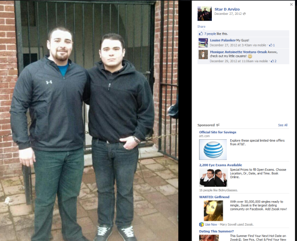 Recent Photo of Star and Gavin Arvizo from December 2012
