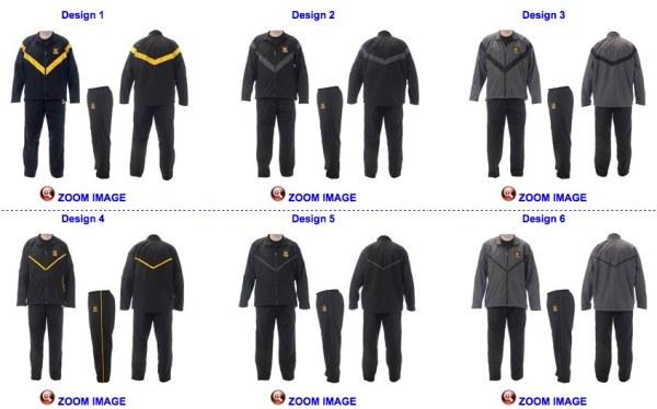 US Army PT gear
