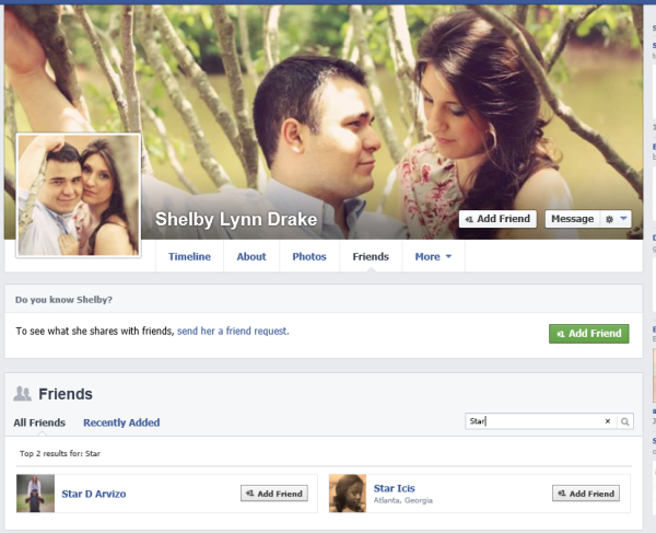 Facebook page of Gavin Arvizo's wife Shelby Lynn Drake #2