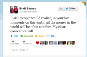 Brett Barnes on Wade Robson's lies